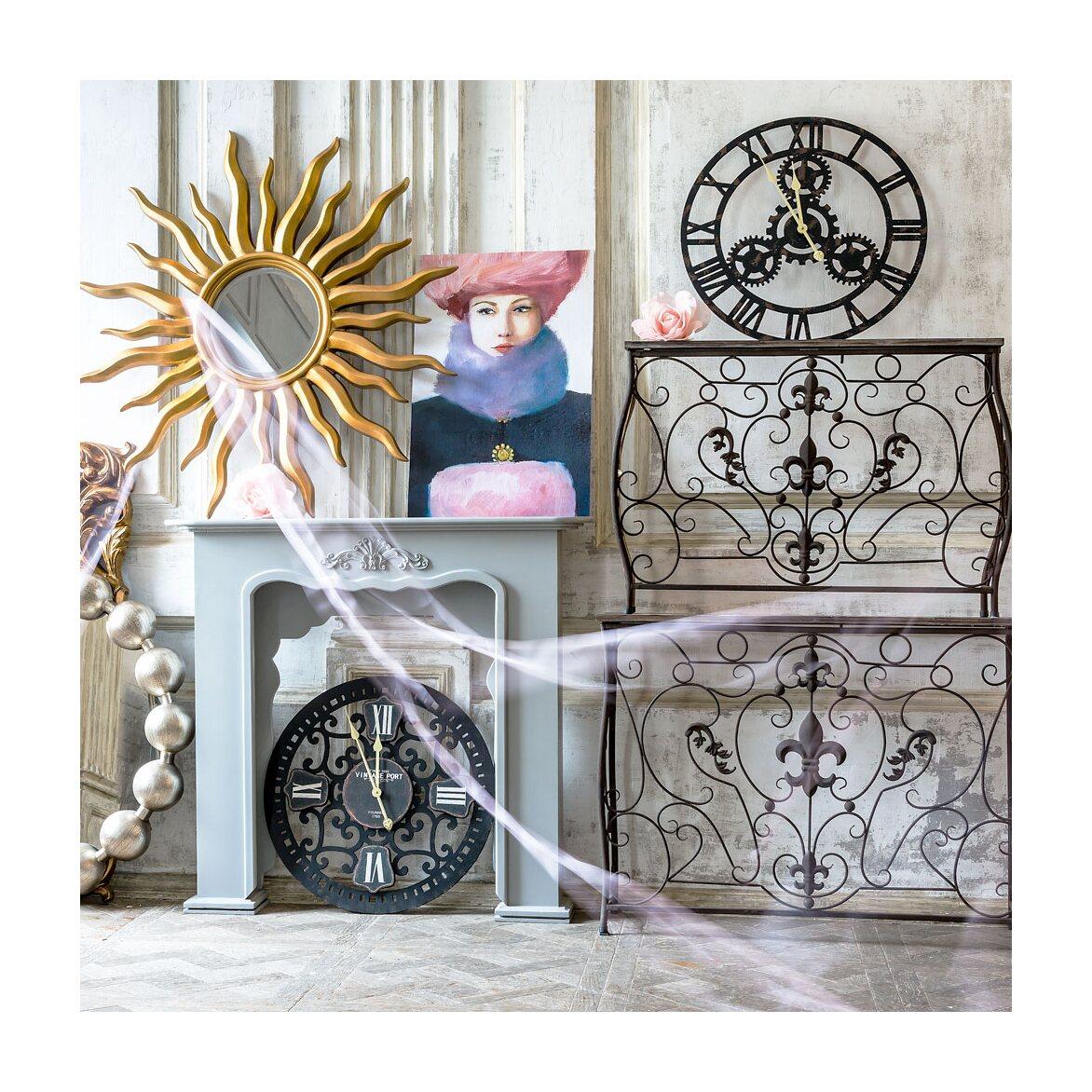 Консоль «Королевская лилия» (шоколадный антик, версия М) 7 | Консоли Kingsby