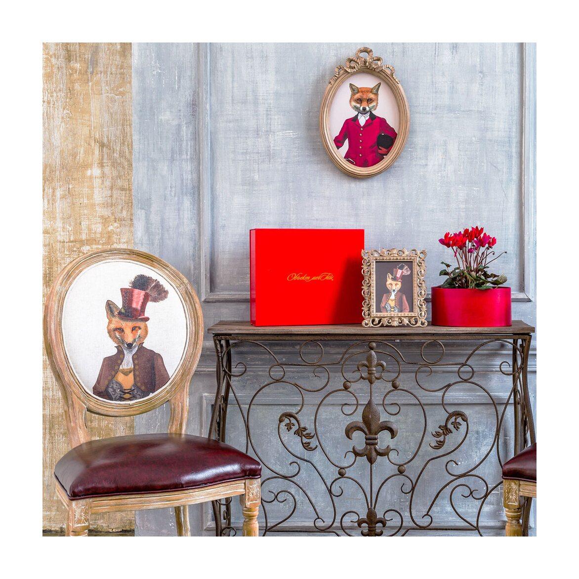 Консоль «Королевская лилия» (шоколадный антик, версия М) 5 | Консоли Kingsby