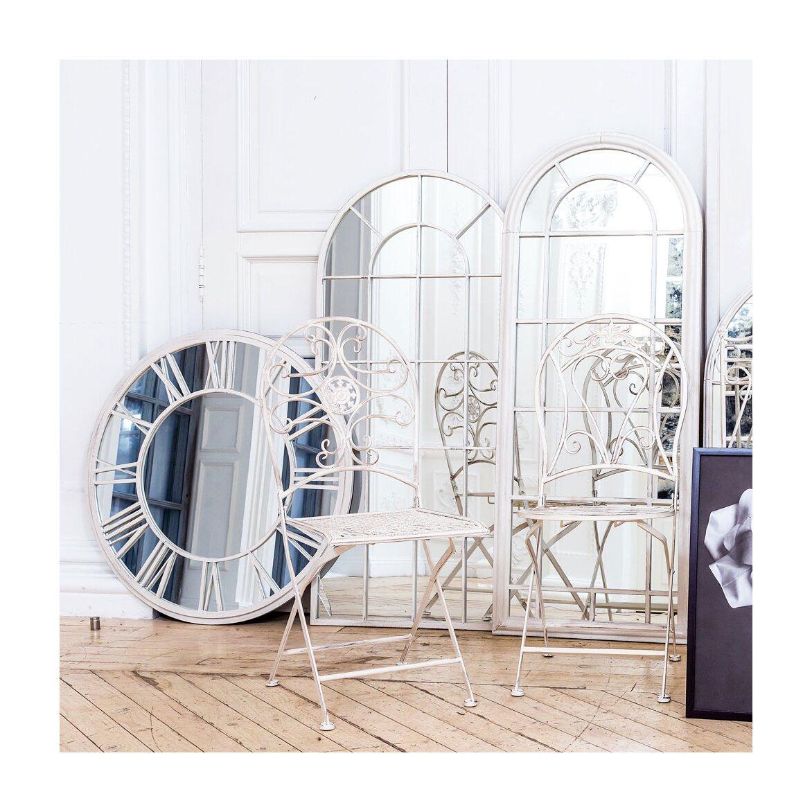 Складной стул «Берси» (белый антик) 3 | Обеденные стулья Kingsby
