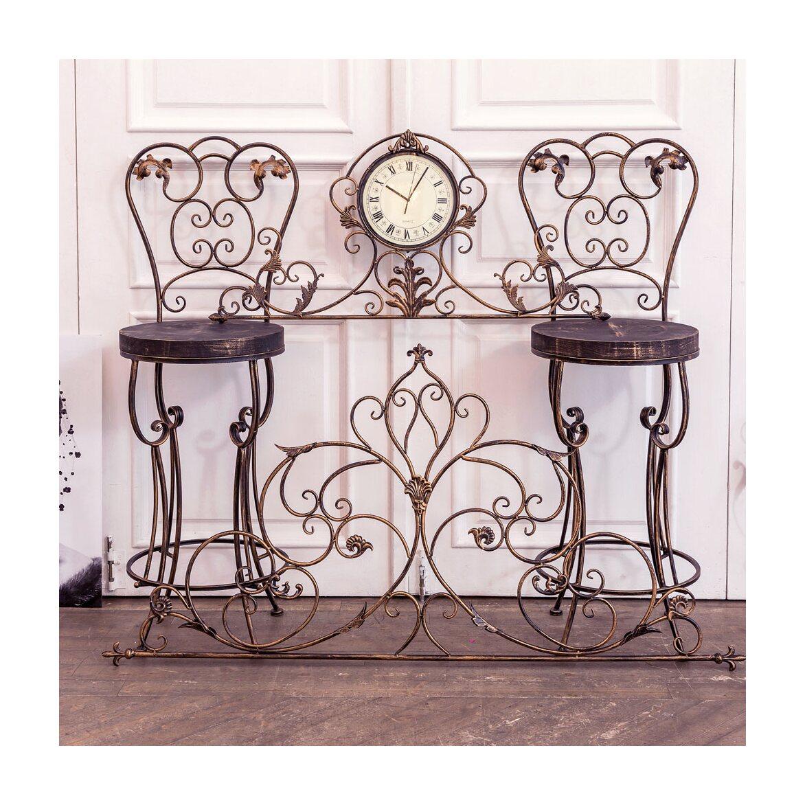 Барный стул «Болеро» (королевская бронза) 3 | Барные стулья Kingsby