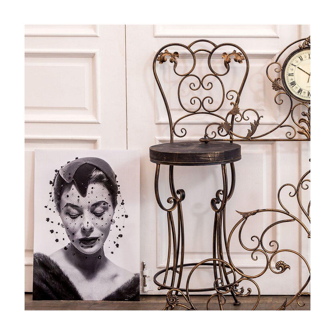 Барный стул «Болеро» (королевская бронза) 9 | Барные стулья Kingsby