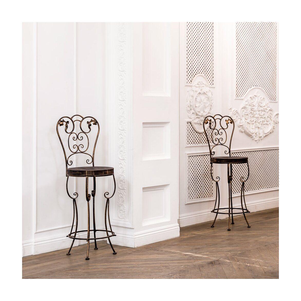 Барный стул «Болеро» (королевская бронза) 7 | Барные стулья Kingsby