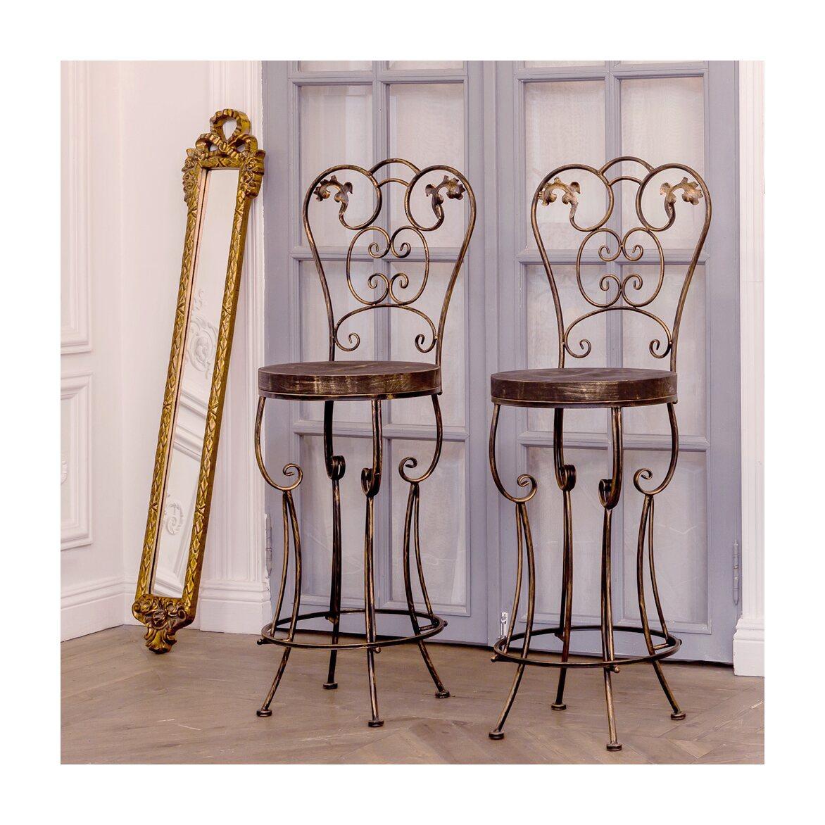 Барный стул «Болеро» (королевская бронза) 6 | Барные стулья Kingsby