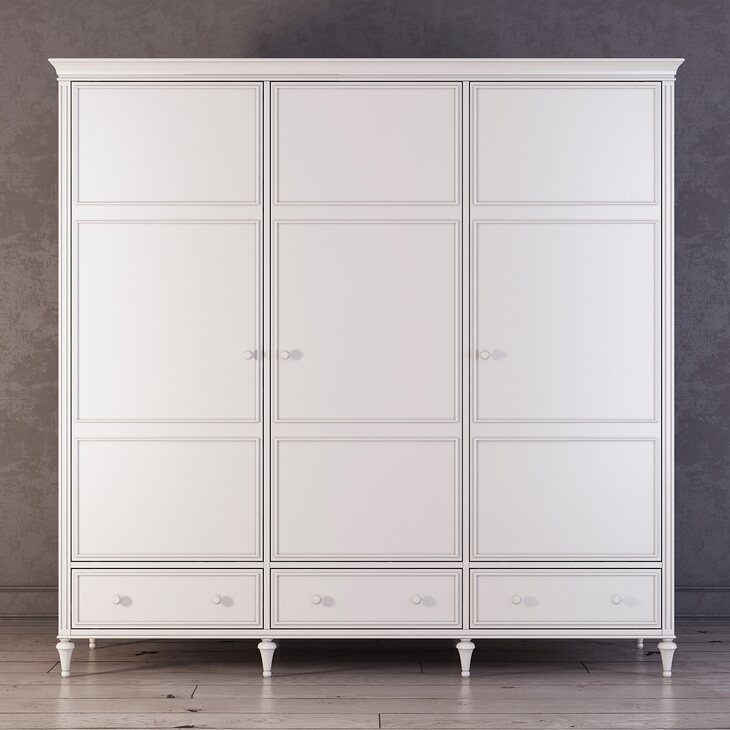 Шкаф трехстворчатый Riverdi | Платяные шкафы Kingsby
