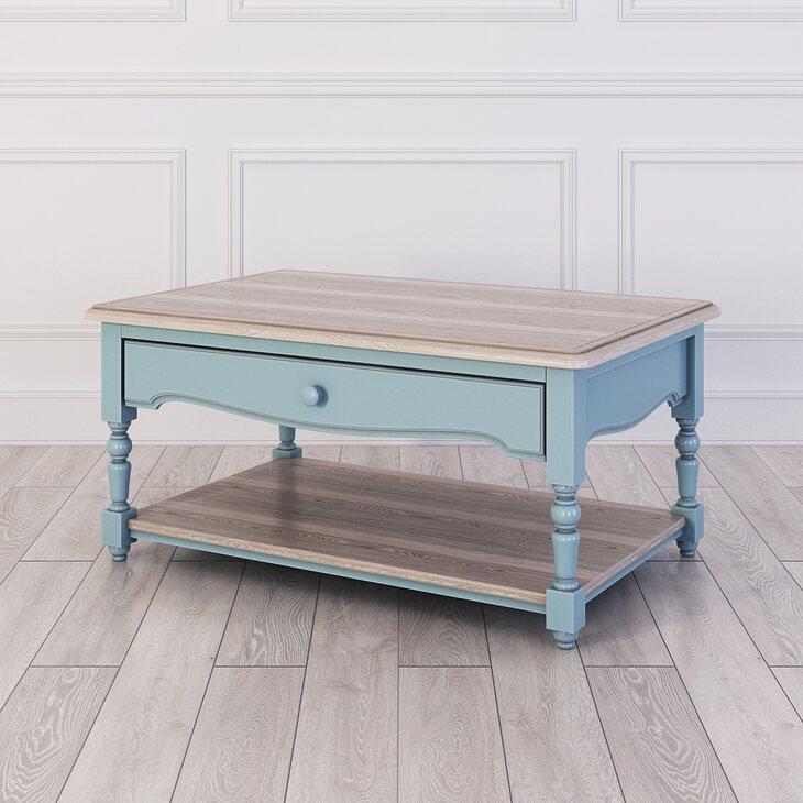 Журнальный столик Leblanc, голубой | Журнальные столики Kingsby