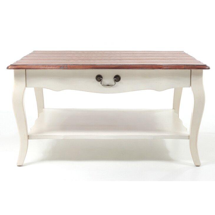Низкий чайный столик (квадратный) Leontina, бежевого цвета | Журнальные столики Kingsby