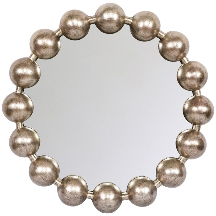 Настенное зеркало «Виконтесса Силвер» | Настенные зеркала Kingsby