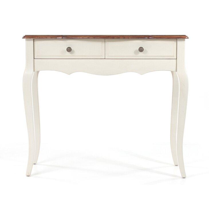 Рабочий стол (малый) Leontina, бежевого цвета | Письменные столы Kingsby