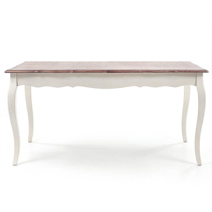 Обеденный стол (малый) Leontina, бежевого цвета | Обеденные столы Kingsby