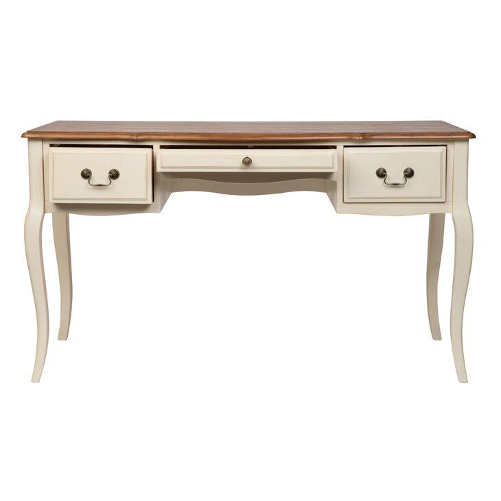 Письменный стол Leontina, бежевого цвета | Письменные столы Kingsby