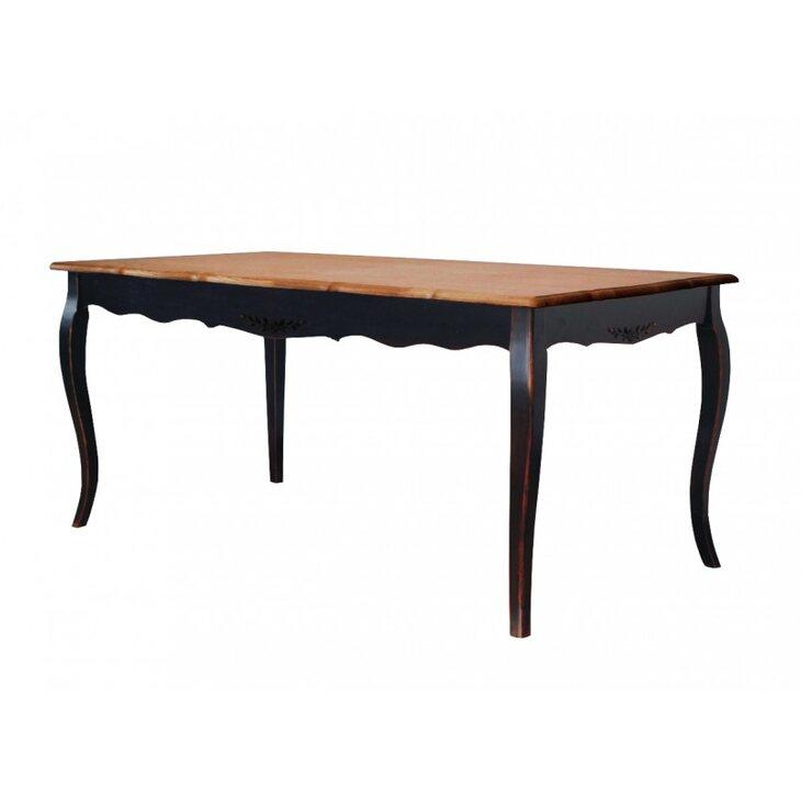 Обеденный стол раскладной Leontina, черного цвета | Обеденные столы Kingsby