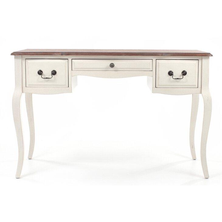 Рабочий стол (большой) Leontina, бежевого цвета | Письменные столы Kingsby