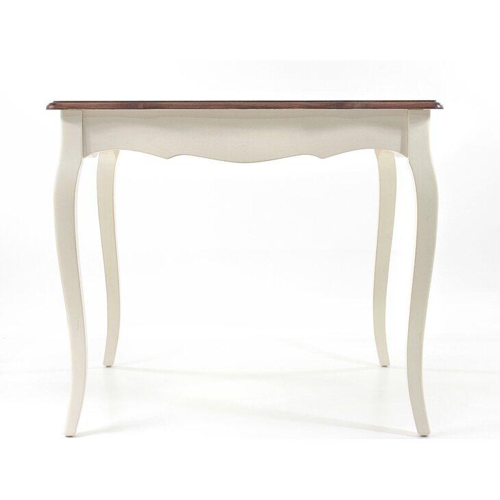 Обеденный стол (квадратный) Leontina, бежевого цвета | Обеденные столы Kingsby