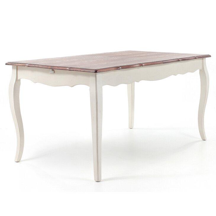 Обеденный стол раскладной Leontina, бежевого цвета | Обеденные столы Kingsby