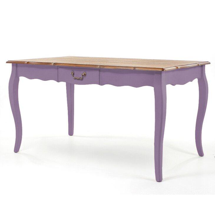 Обеденный стол Leontina, лавандового цвета | Обеденные столы Kingsby