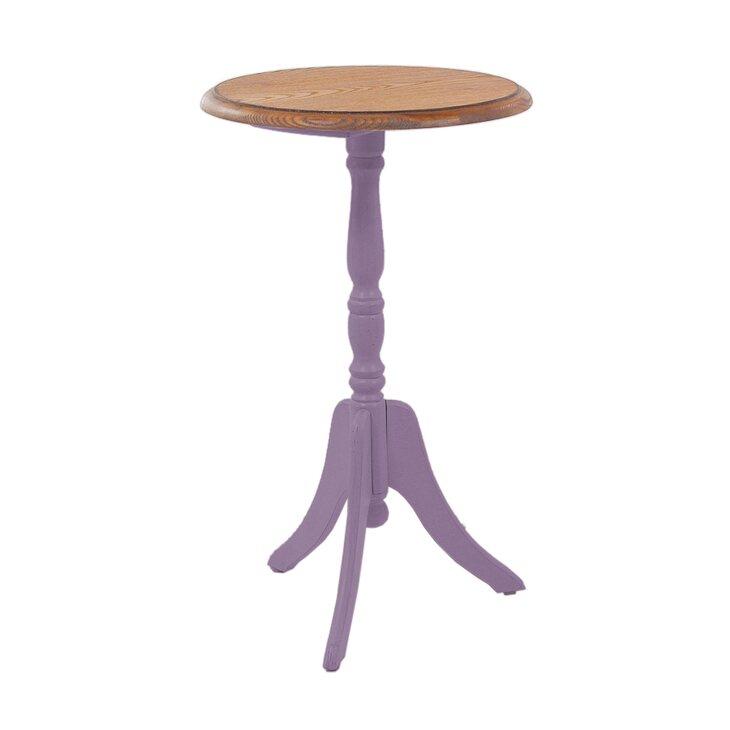 Кофейный столик круглый Leontina, лавандового цвета   Кофейные столики Kingsby