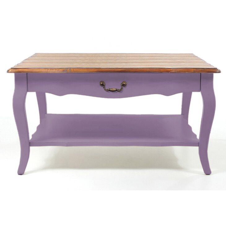 Стол журнальный Leontina, лавандового цвета | Журнальные столики Kingsby