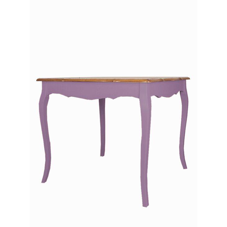 Cтол обеденный квадратный Leontina, лавандового цвета | Обеденные столы Kingsby