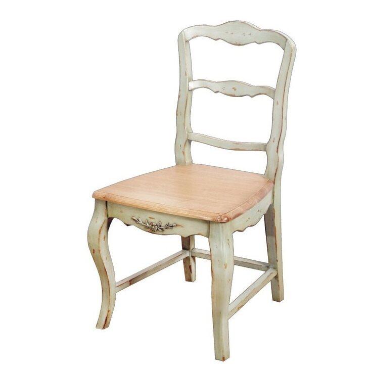 Стул с деревянным сиденьем Leontina, зеленого цвета | Обеденные стулья Kingsby