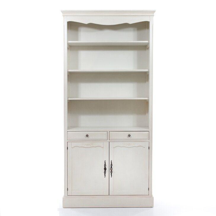 Стеллаж с 2-я ящиками и закрытым отделением Leontina, голубого цвета | Стеллажи Kingsby