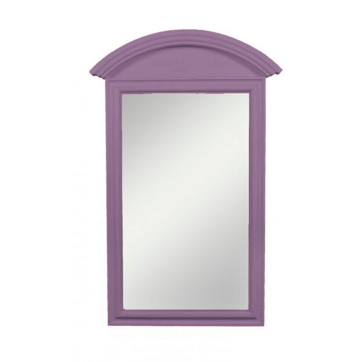 Прямоугольное зеркало Leontina, лавандового цвета | Настенные зеркала Kingsby