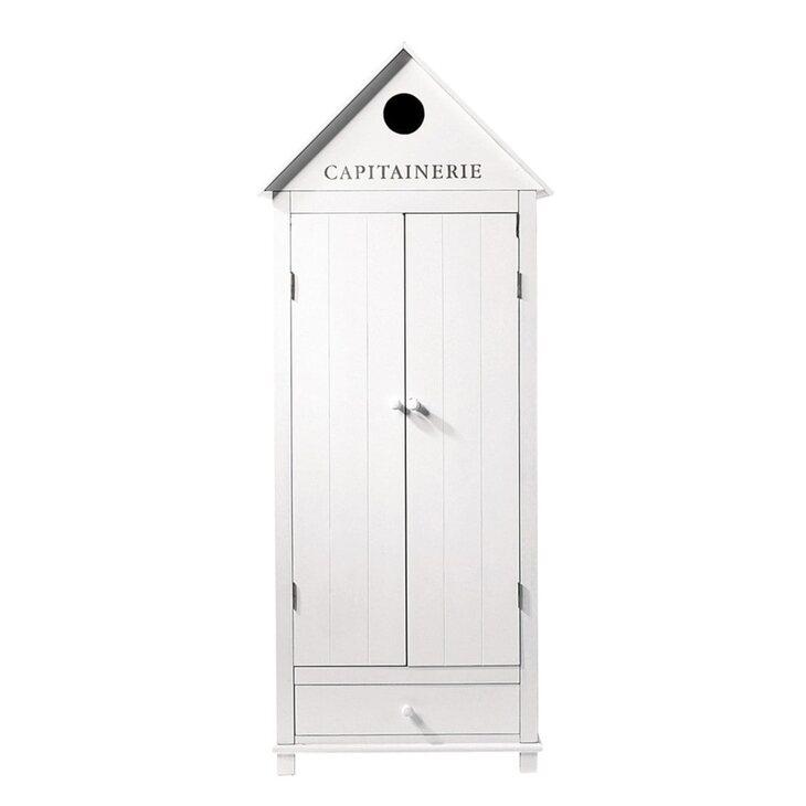 Платяной шкаф Portland, белого цвета   Платяные шкафы Kingsby