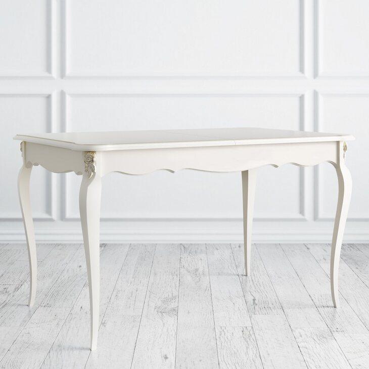 Стол обеденный раскладной Golden Rose, цвета слоновая кость | Обеденные столы Kingsby