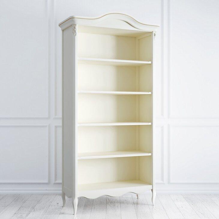 Книжный шкаф Golden Rose, цвета слоновая кость | Книжные шкафы Kingsby