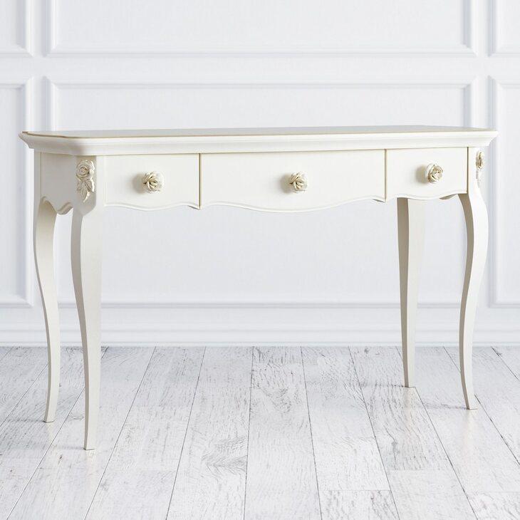 Столик-консоль Golden Rose, цвета слоновая кость   Консоли Kingsby