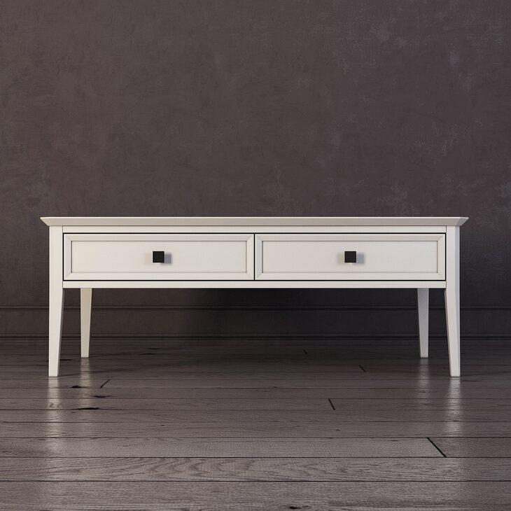 Журнальный столик Ellington, белый | Журнальные столики Kingsby