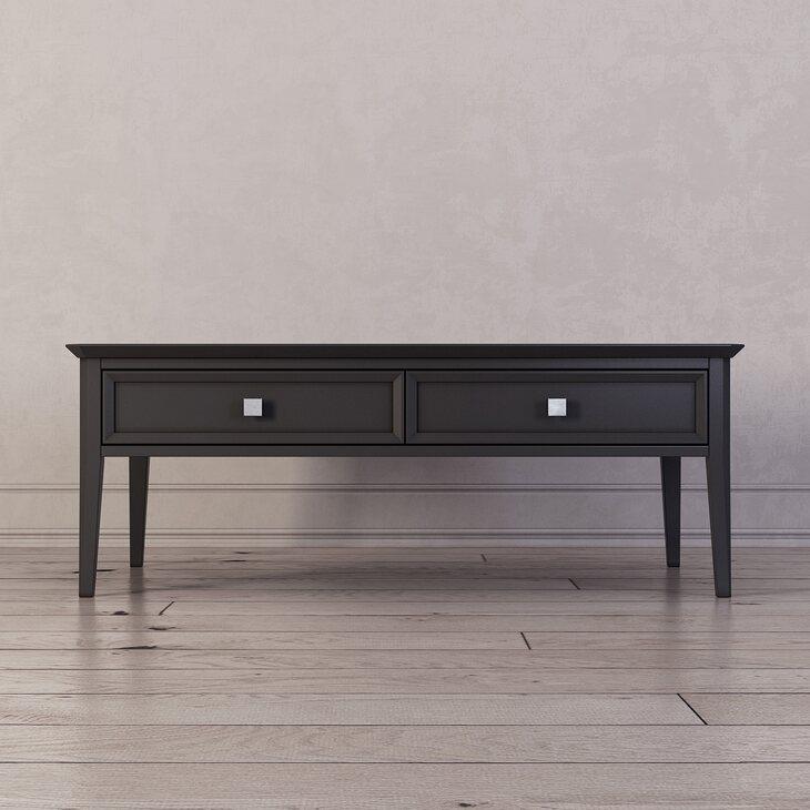 Журнальный столик Ellington, черный | Журнальные столики Kingsby