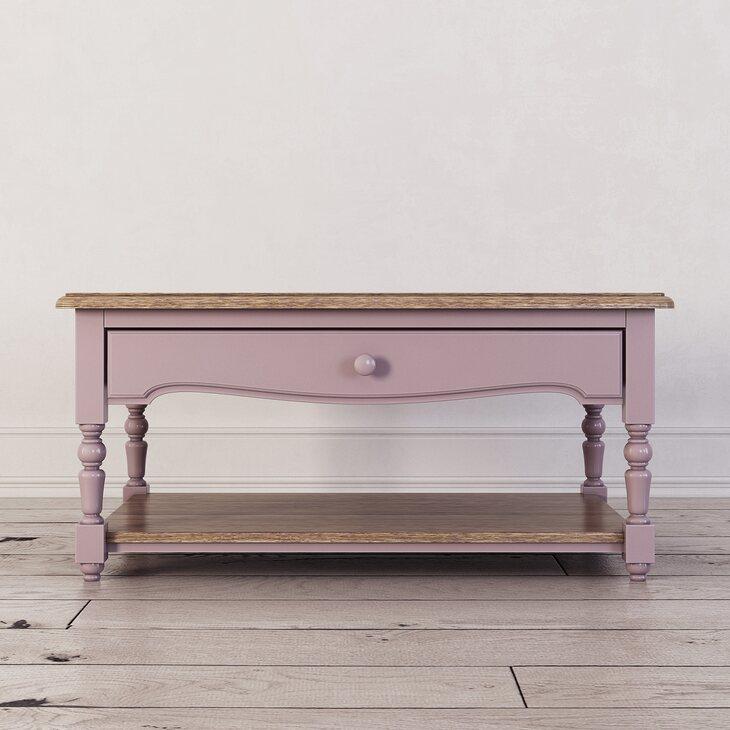 Журнальный столик Leblanc, лаванда | Журнальные столики Kingsby