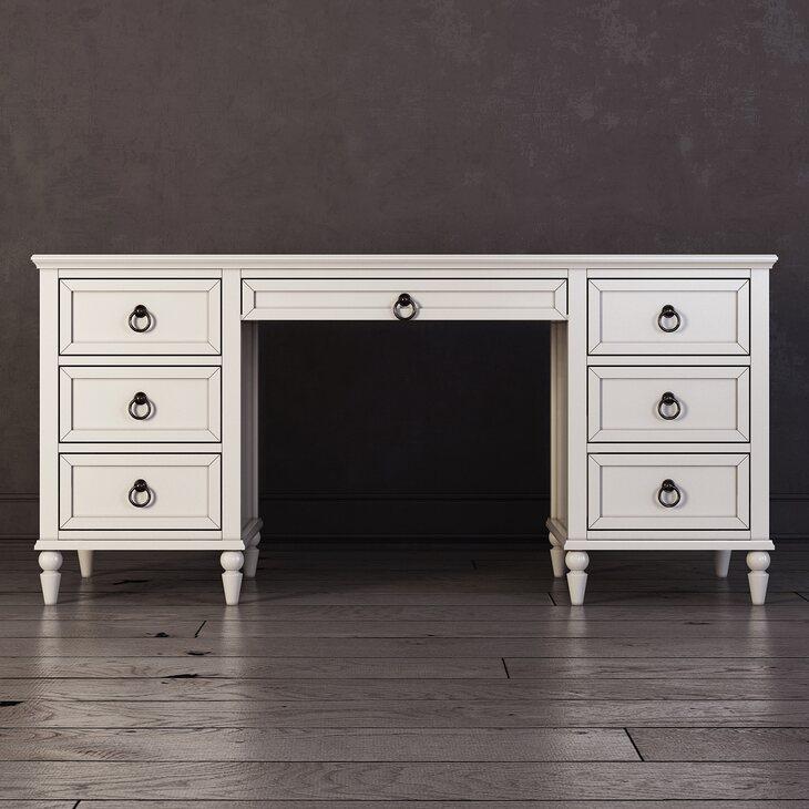 Письменный стол с ящиками Vilton | Письменные столы Kingsby