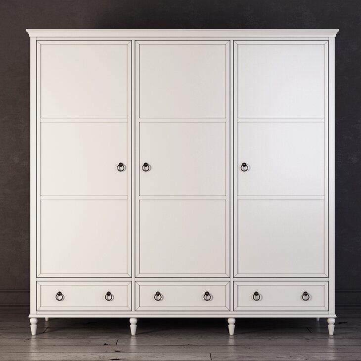 Шкаф трехстворчатый Vilton | Платяные шкафы Kingsby