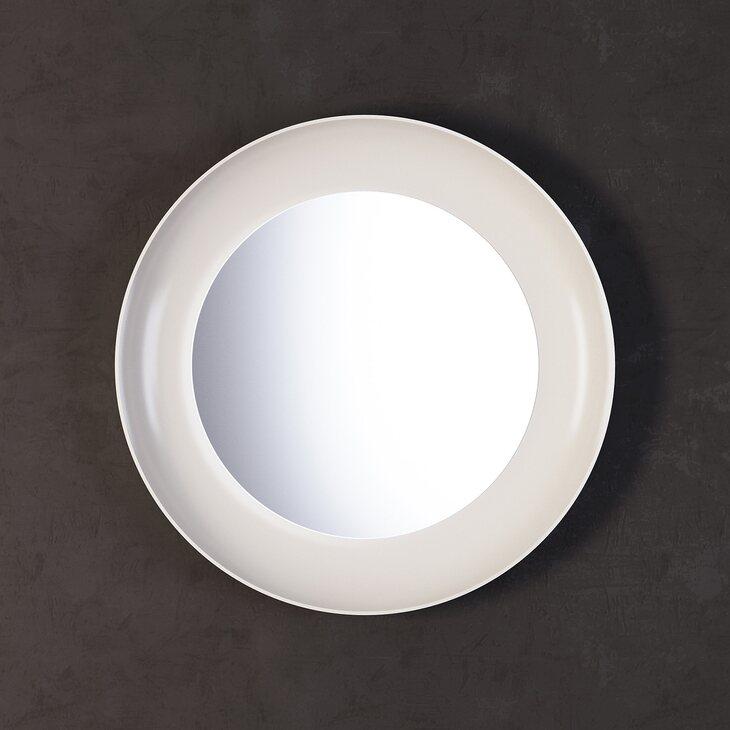 Зеркало Clayton, белое | Настенные зеркала Kingsby