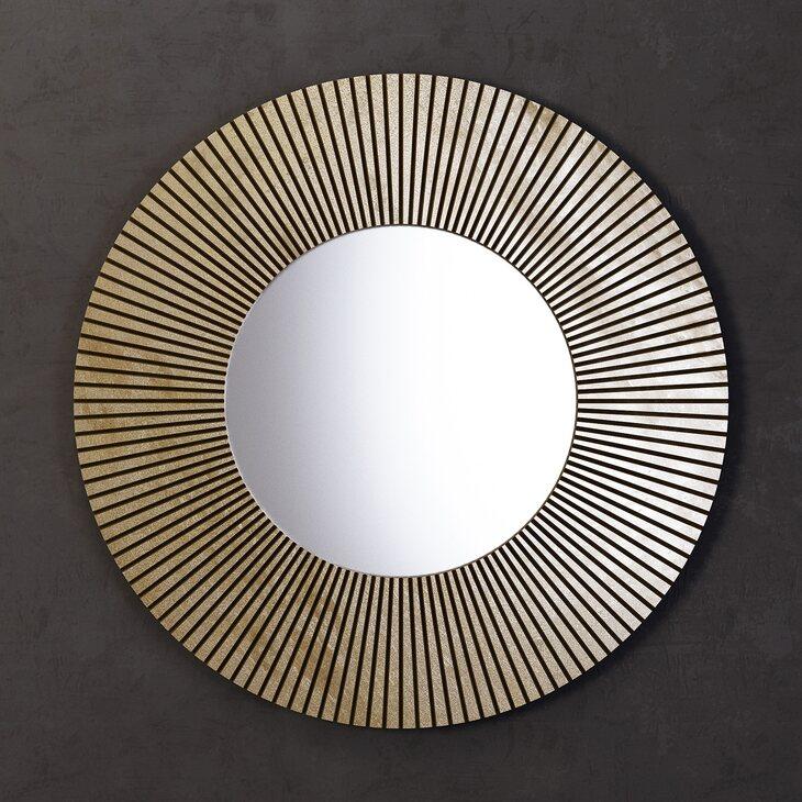 Зеркало Sunshine, круглое | Настенные зеркала Kingsby