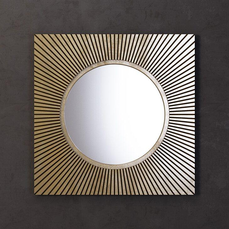 Зеркало Sunshine, квадратное | Настенные зеркала Kingsby