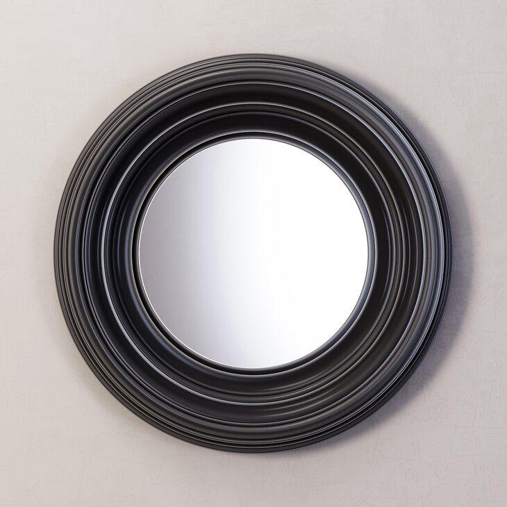Зеркало Coventry, черное | Настенные зеркала Kingsby
