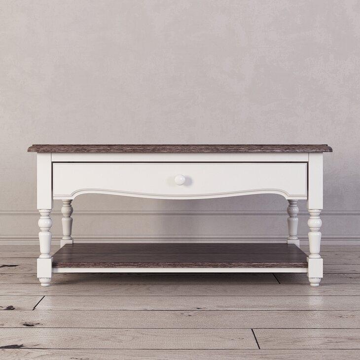 Журнальный столик Leblanc, белый | Журнальные столики Kingsby
