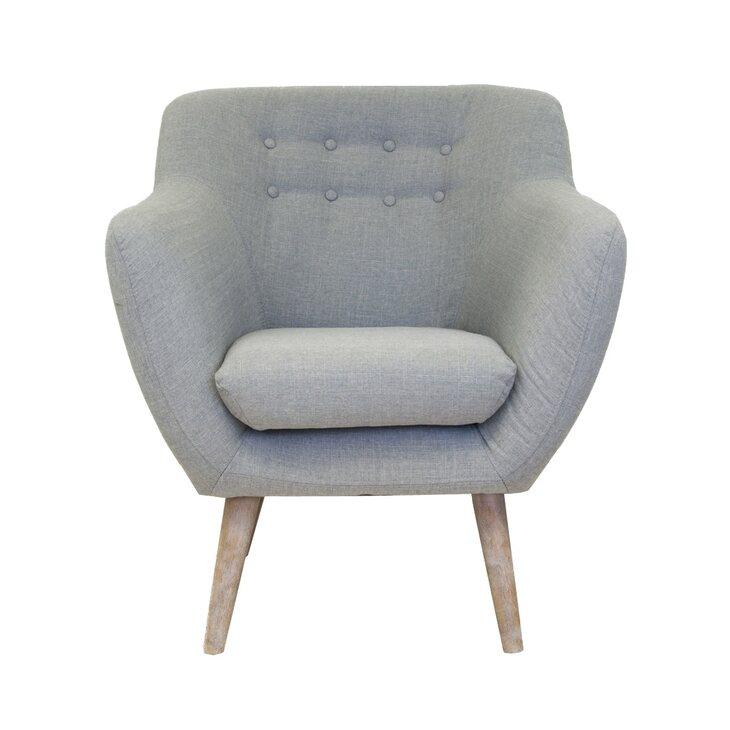 Низкое кресло Fuller grey | Маленькие кресла Kingsby