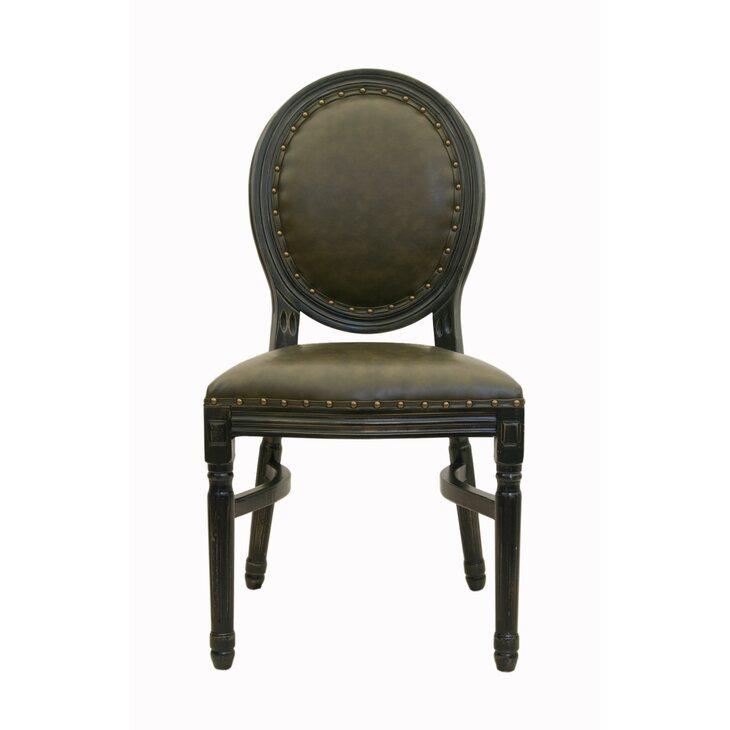 Кожаный стул Bended | Обеденные стулья Kingsby