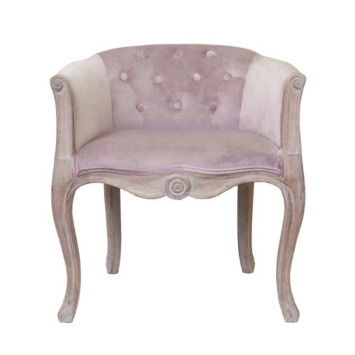 Низкое кресло Kandy pink velvet | Маленькие кресла Kingsby