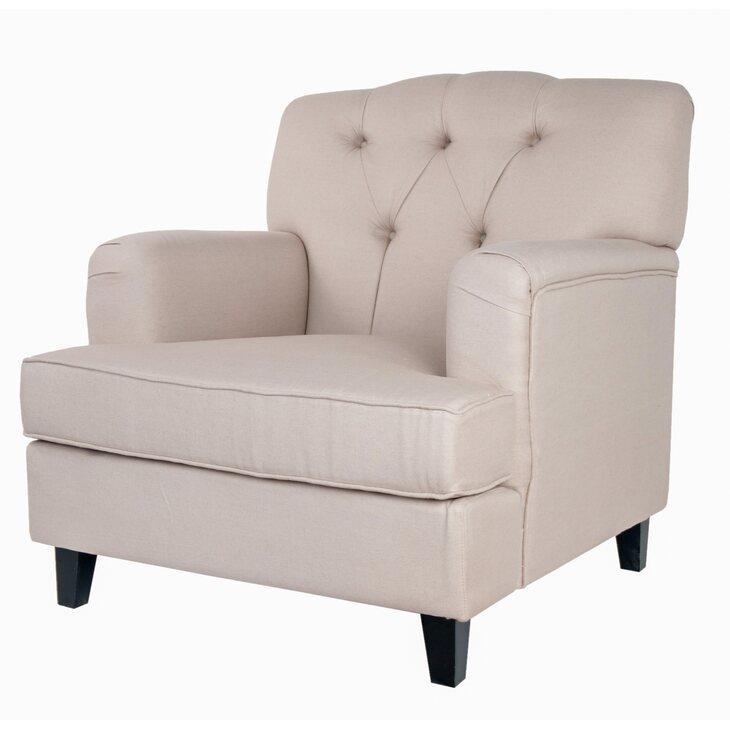Кресло Somac beige | Каминные кресла Kingsby