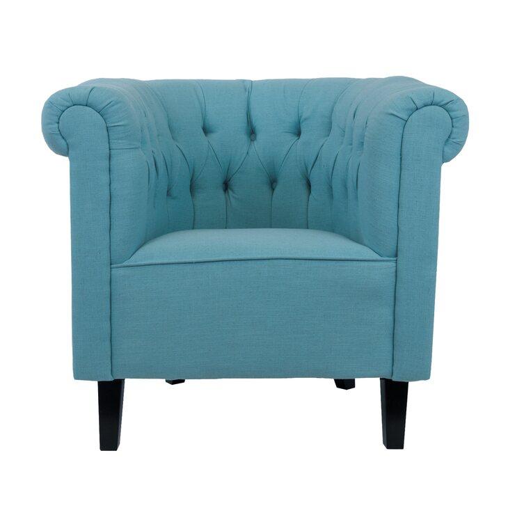 Кресло Swaun turquoise | Каминные кресла Kingsby