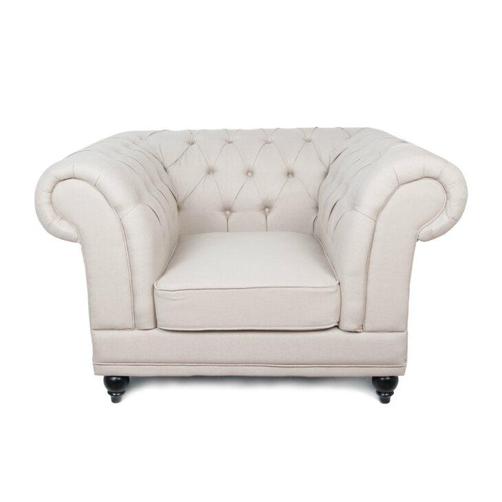 Кресло Dasen beige | Каминные кресла Kingsby