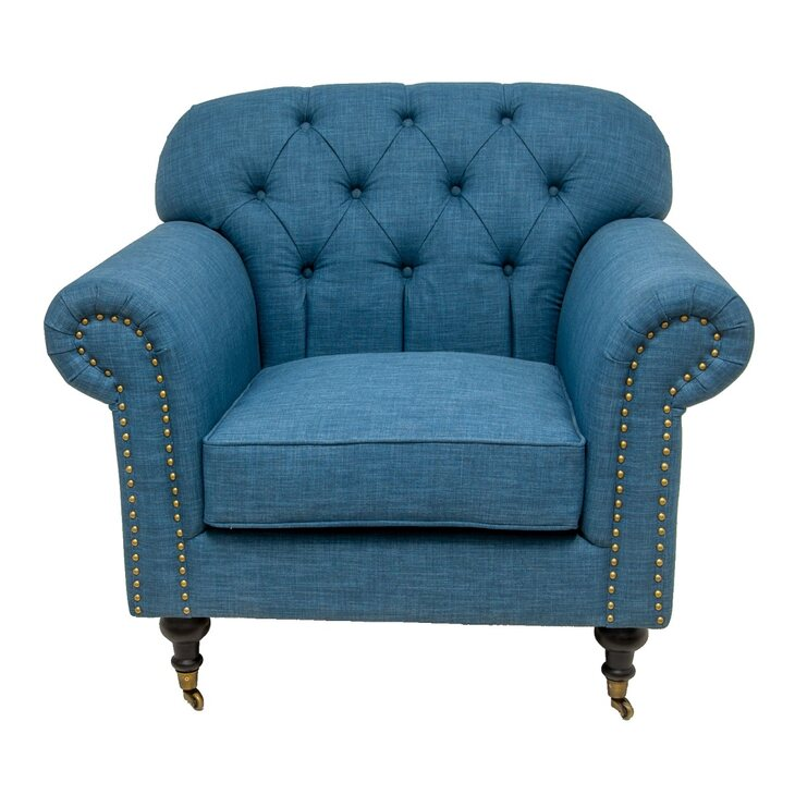 Кресло Kavita blue   Каминные кресла Kingsby