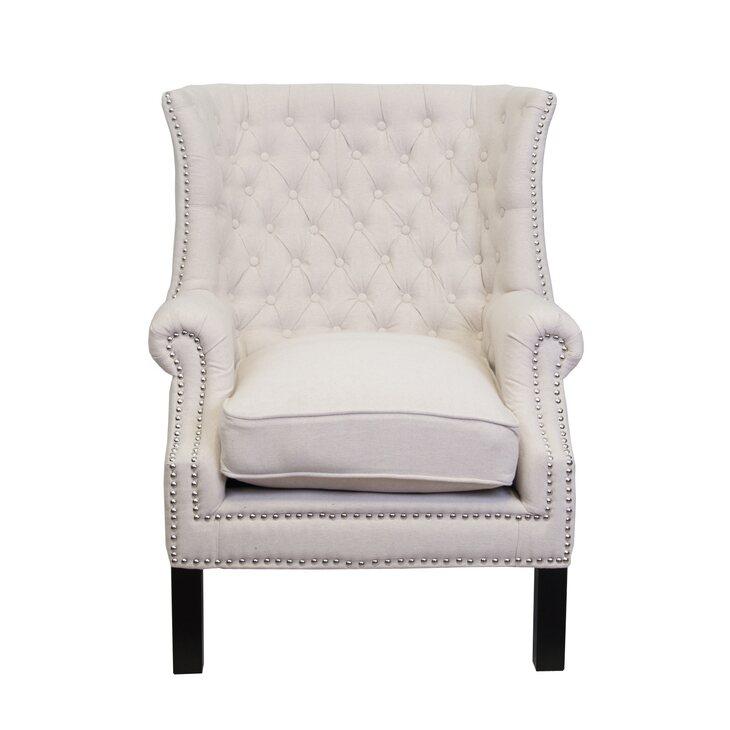 Кресло Teas beige | Каминные кресла Kingsby