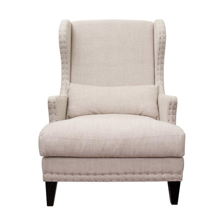 Полукресло Agon beige | Каминные кресла Kingsby