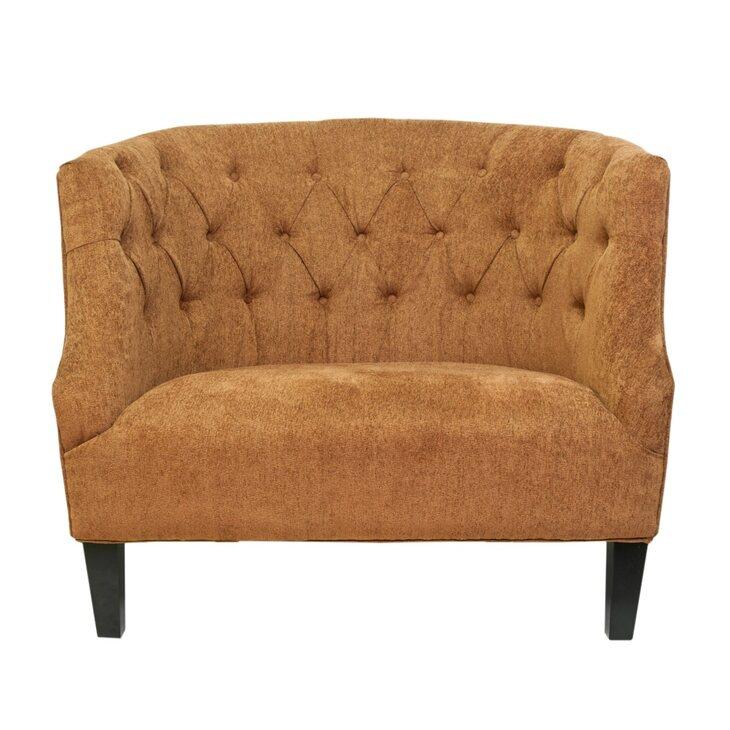 Кресло Solio orange | Каминные кресла Kingsby
