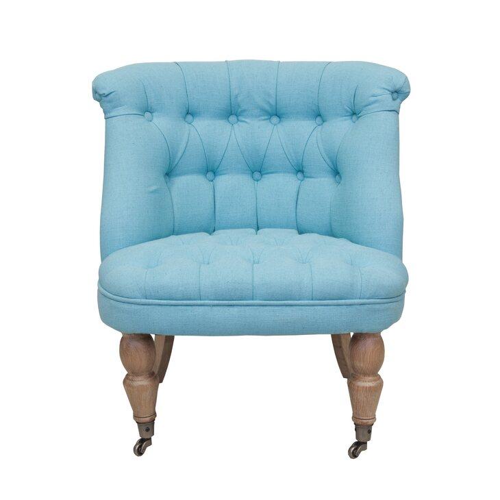 Низкое кресло Aviana Blue | Маленькие кресла Kingsby